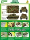J's Work PPA5110 Airbrush CAMO-MASK for 1/48 Tiger I Camo Scheme 1
