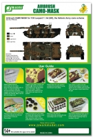 J's Work PPA5128 1/35 Leopard 1 / A4 (GR), the Hellenic Army camo scheme
