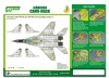 J's Work PPA5137 Airbrush CAMO-MASK for 1/48 MiG-29 Camouflage Scheme 1
