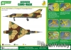 J's Work PPA5151 Airbrush CAMO-MASK for 1/72 Mirage IIIC Camouflage Scheme 1