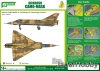 J's Work PPA5152 Airbrush CAMO-MASK for 1/48 Mirage IIIC Camouflage Scheme 2