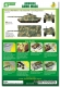 J's Work PPA5156 Airbrush CAMO-MASK for 1/35 Chieftain MK.11 Camouflage Scheme 1