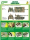 J's Work PPA5169 Airbrush CAMO-MASK for 1/35 AMX13/75 Camouflage Scheme 3