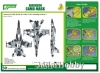 J's Work PPA5174 Airbrush CAMO-MASK for 1/48 F/A-18 Camouflage Scheme 1