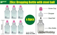J's Work PPA6011 20cc Dropping Bottle with steel ball