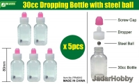 J's Work PPA6012 30cc Dropping Bottle with steel ball