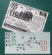 AFV-Decals AFV-3501 Tiger I Asf.E kalkomania (Komis/Second Hand)