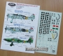 HAD 72031# 1/72 Bf 109 G-6; Fw 190 F-8; Ju 87 D-5 (Komis/Second Hand)