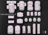Legend LF1237  US Army MOLLE II set (2ea) (1/35)