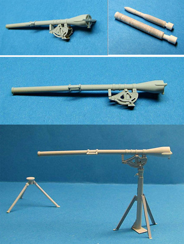 LZ Models 35506 US Army 75mm Recoilless Rifle T21 with Tripod (1/35)
