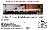 LZ Models 35103 (Special Offer) 1/35 60t Russian Low Sided Platform