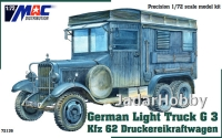 MAC 72136 - 1/72 German Light Truck G3 Kfz 62 Druckereikraftwagen