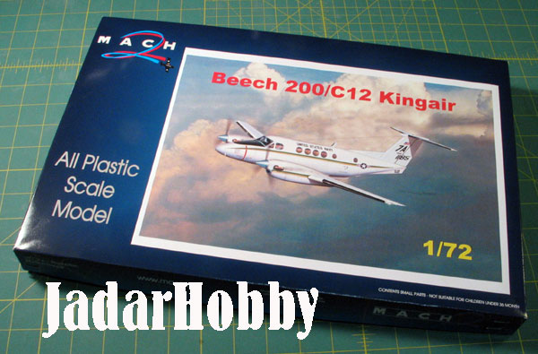Mach 2 GP048 Beech 200 King Air (1/72)