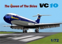 Mach 2 GP108 1/72 Vickers VC10 Queen of the Skies