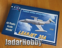 Mach 2 GP084 1/72 Learjet 35A Fuerza Aerea Argentina