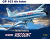 Mach 2 GP103 1/72 Vickers Viscount 700 Air Inter