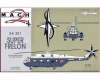 Mach 2 GP018* (BACKORDER) 1/72 Aerospatiale S.A.321 Super Frelon