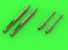 "Master GM-35-027 1/35 MG-34 ""Panzerlauf"" - German machine gun - armored version for tanks - full length gun barrels (2pcs)"