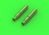 Master GM-35-028 1/35 MG-34 - German machine gun barrel tips (turret mount) (2pcs)