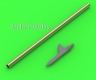 "Master AM-48-156 1/48 US WWII Pitot Tube - ""Shark-fin"" type probe (1 pc)"