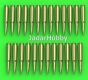 Master GM-16-002 1/16 Browning .50 caliber (12,7mm) - cartridges (25pcs)