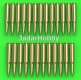 Master GM-16-004 1/16 M1919 Browning .30 caliber (7,62mm) - cartridgess (25pcs)