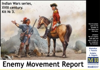 MB 35217 1/35 Enemy Movement Report. Kit No.3