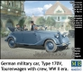 "MB 35113 1/35  ""German military car, Type 170V, Tourenwagen with crew, WW II era"""