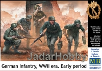 MB 35177 1/35 German Infantry, WWII era. Early period