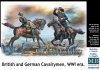 MB 35184 1/35 British and German Cavalrymen, WWI era