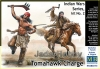 MB 35192 1/35 Indian Wars Series, kit No.2. Tomahawk Charge