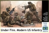 MB 35193 1/35 Under Fire. Modern US Infantry