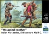 "MB 35210 1/35 ""Wounted brother"". Indian Wars, XVIII Century, Kit 2"