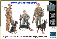 MB 35155 Dogs in service in the Marine Corps WWII era (1:35)
