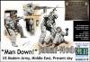 MB 35170 1/35 Man Down, US Army, Middle East, presend day