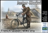 MB 35173 1/35 French Soldier w/Bicycle, WW2