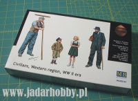 MB 3567 Civilians, Western region, WW2 Era (1:35)
