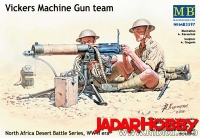 MB 3597 1:35 Vickers Machine Gun team