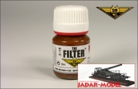 MIG P406 Filter: Brown for white-yellow camo (35ml)