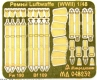 Mikrodizain MD048232 1/48 Luftwaffe seatbelts (WWII)
