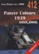 Militaria 412 Panzer Colours 1939