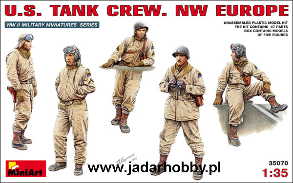 Mini Art 35070 US Tank Crew