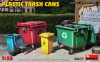 MiniArt 35617 1/35 Plastic Trash Cans