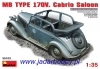 MiniArt 35103 MB Type 170V Cabrio Saloon (1/35)