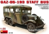 MiniArt 35156 1/35 GAZ-05-193 STAFF  BUS