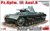 PRE-ORDER: MiniArt 35162 1/35 Pz.Kpfw.III Ausf. B WW2 German Medium Tank