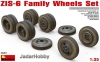 MiniArt 35201 1/35 ZIS-6 Family Wheels Set