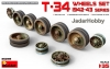 MiniArt 35239 1/35 T-34 Wheels Set 1942-43 series
