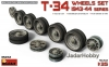 MiniArt 35242 1/35 T-34 Wheels Set 1943-44 series