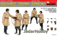 MiniArt 35244 1/35 Soviet Tank Crew (Winter uniforms)